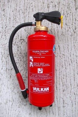 Wasserfeuerlöscher