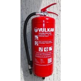 Pulverfeuerlöscher 6 kg Vulkan - P6D