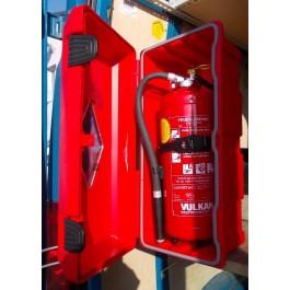 LKW BOX offen für 6 kg Feuerlöscher