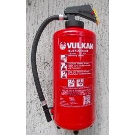 Frostsicherer Schaum-Aufladefeuerlöscher 9 Liter Vulkan - Sf9H