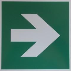 Richtungspfeil grün
