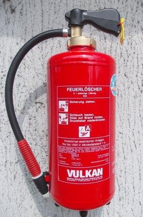 Wasserfeuerlöscher 9 Liter WH9n